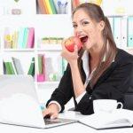 Как похудеть при сидячей работе женщине. Особенности питания при сидячей работе