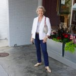 осенняя мода для женщин за 60 лет - 11