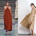 Широкие и роскошные: самые модные расклешенные платья 2020-2021 года 9